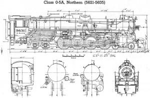 Custom build of CB&Q 0-5